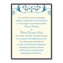 Gabriella 2-Layer Wedding Invitations