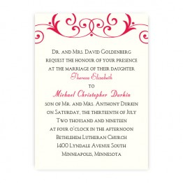 Gabriella Wedding Invitations