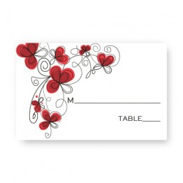 Garden Enchantment Seating Cards
