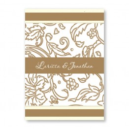 Graceful Foliage Wedding Invitations