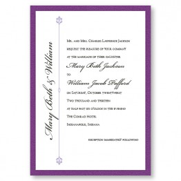 Harmony II Wedding Invitations