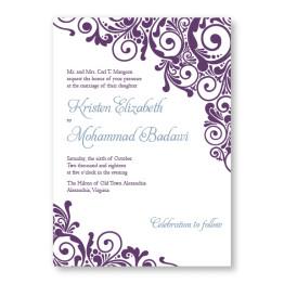 Henna Wedding Invitations