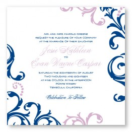 Josie Square Wedding Invitations