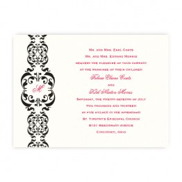 Lacey Wedding Invitations