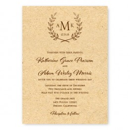 Laurel Wedding Invitations