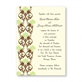 Lavish Border Wedding Invitations