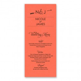 Layla Thermography Menu Cards