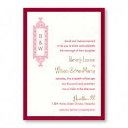 Lena 2-Layer Wedding Invitations