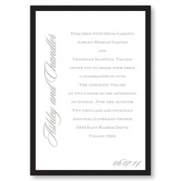 Love By Design II Wedding Invitations