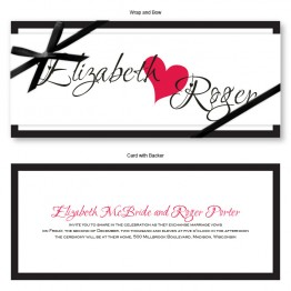 Lovers Delight Wedding Invitations