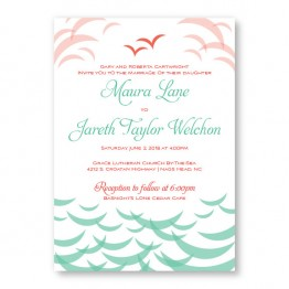Ocean Wedding Invitations