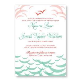 Ocean Wedding Invitations