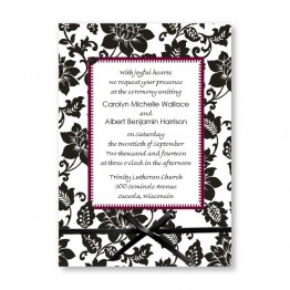 Passionate Blooms Wedding Invitations - LIMITED STOCK AVAILABLE