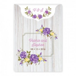 Penny Wedding Invitations - LIMITED STOCK AVAILABLE