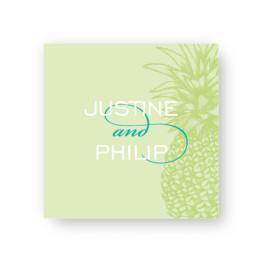 Pineapple Favor Tags