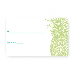 Pineapple Seating Cards