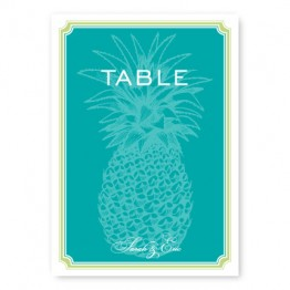 Pineapple Table Cards