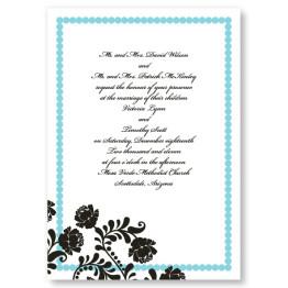 Primrose Dots Wedding Invitations