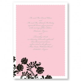 Primrose Wedding Invitations