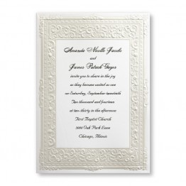 Pure Romance Wedding Invitations