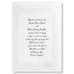 Queen Victoria Wedding Invitations