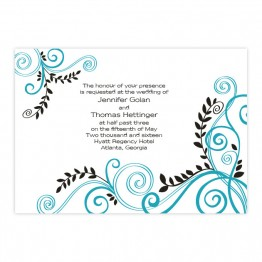 Radiant Vines Wedding Invitations