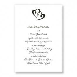 Rectangle Marvelous Motif Wedding Invitations