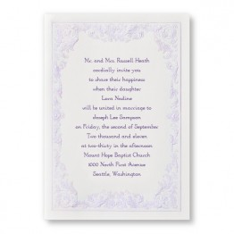 Regency Romance Wedding Invitations - LIMITED STOCK ON HAND