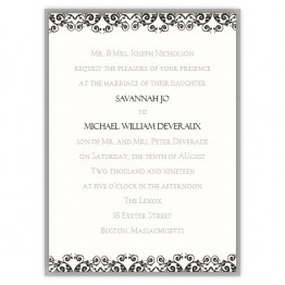 Savannah 2-Layer Wedding Invitations
