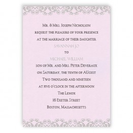 Savannah Wedding Invitations
