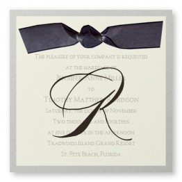 Serenade Wedding Invitations