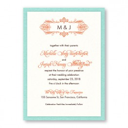 Shannon 2-Layer Wedding Invitations