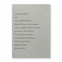 Shimmer Chic Wedding Invitations - LIMITED STOCK ON HAND