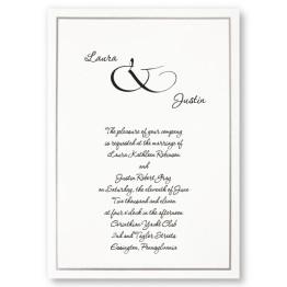 Simple Beauty Wedding Invitations