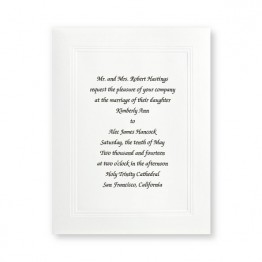 Small Social Graces Wedding Invitations
