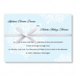 Snowflake Wedding Invitations - LIMITED STOCK AVAILABLE