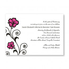 Spring Fling Wedding Invitations
