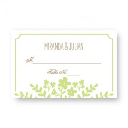 Spring Flora Seating Cards