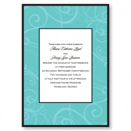 Swirls Wedding Invitations
