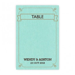 Aurora Thermography Table Cards