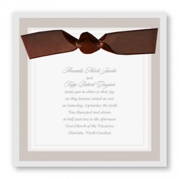 Timeless Style Wedding Invitations