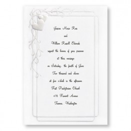 Together Forever Wedding Invitations - LIMITED STOCK AVAILABLE
