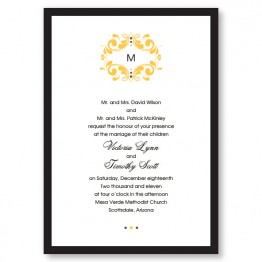 Tuxedo Wedding Invitations