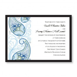 Paisley Charm Wedding Invitations