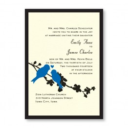 Wings of Love Wedding Invitations - LIMITED STOCK AVAILABLE