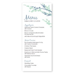 Winter Berry Menu Cards