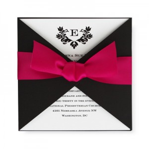 Stylish Wedding Invitations SAMPLE