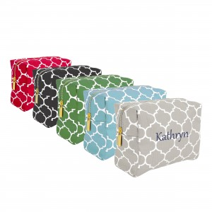 Moroccan Lattice Cosmetic Bag