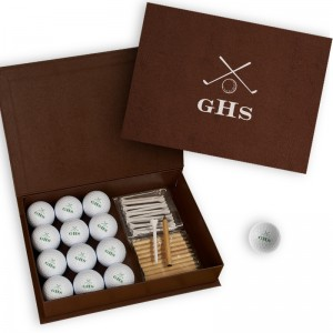 Golf Balls with Display Box - White