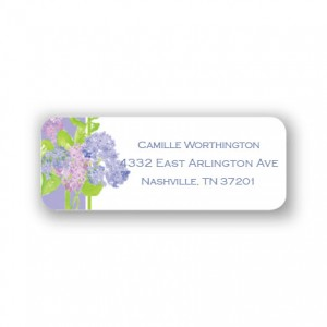 Hydrangeas Address Labels